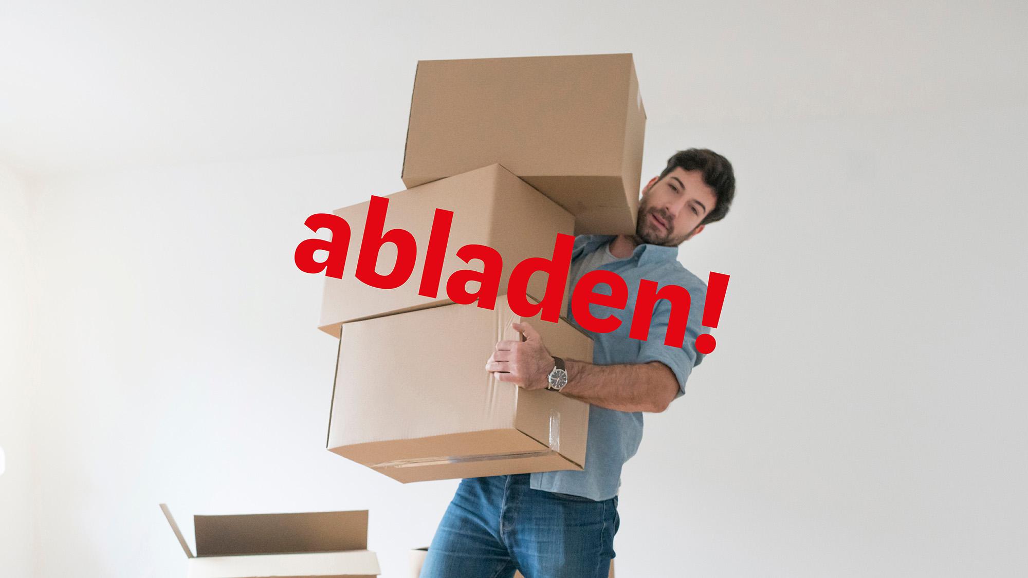 #1: Abladen!