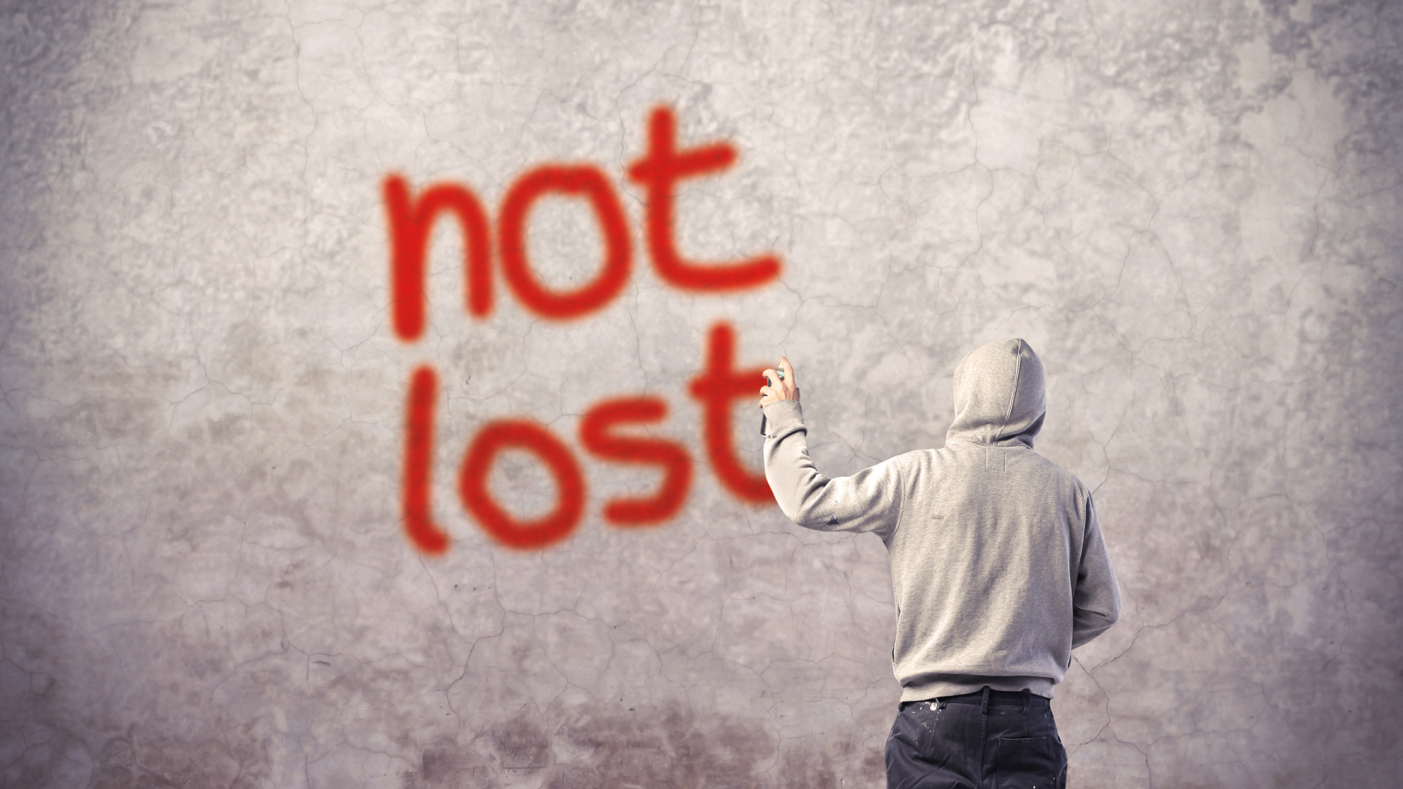 #15: not lost
