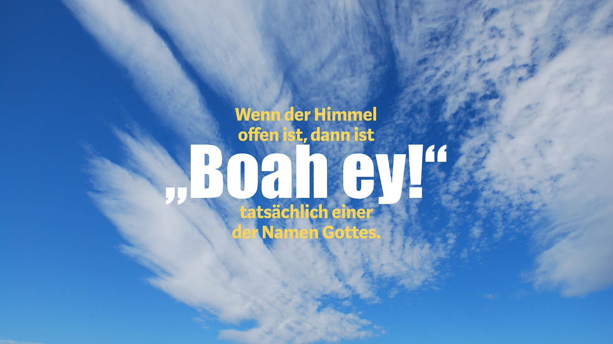 "#3: ""Boah ey!"""
