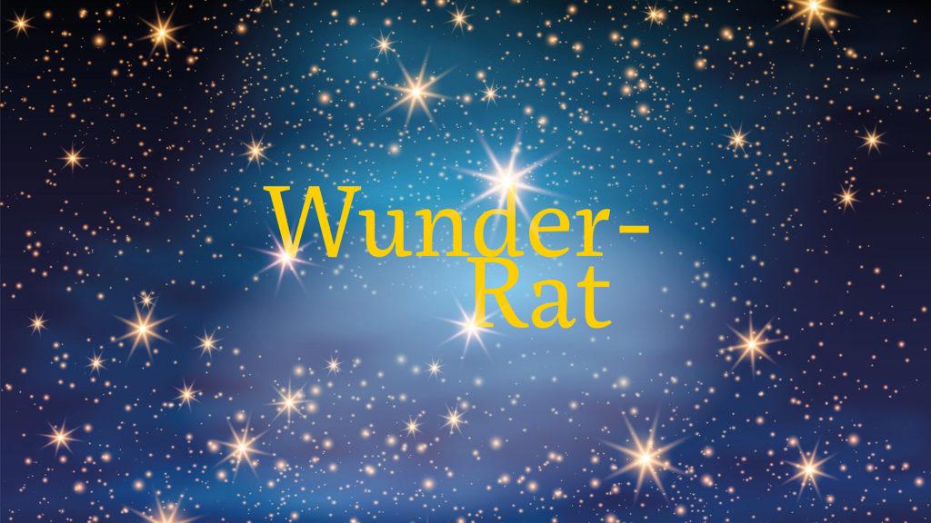 #9: Wunder-Rat